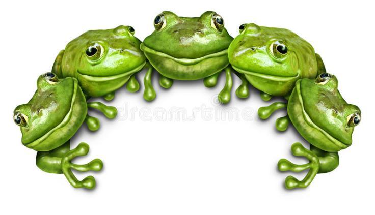 signe-de-groupe-de-grenouille-49747934