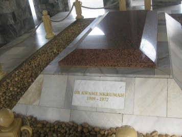 La Tombe de KWAME NKRUMAH